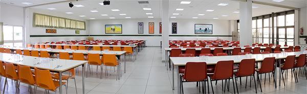 Comedor colegio base for Menu colegio base